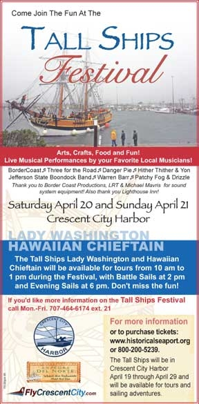 Tall Ships Festival in Crescent City