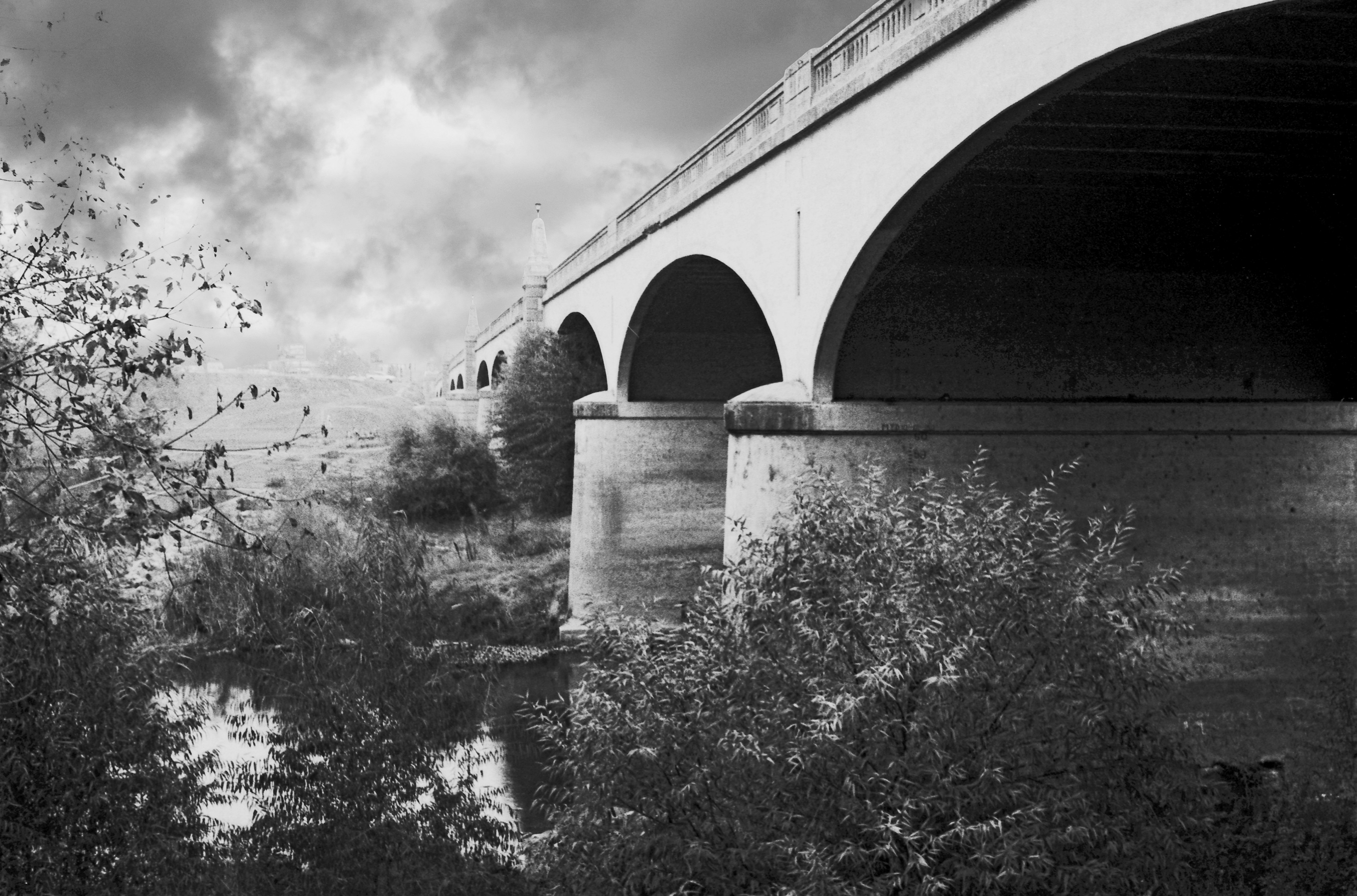 7th St. Bridge, Modesto, CA film