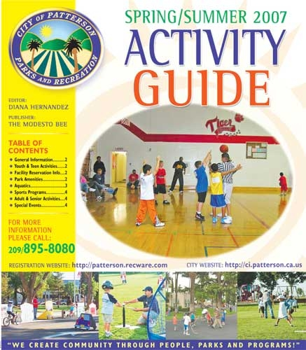 2007 Patterson Recreation Guide Tabloid Cover
