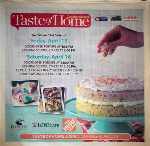 Taste of Home Tabloid Cover